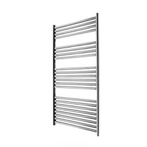 Abacus Elegance Linea Straight Towel Rail - 1120mm x 480mm - Polished Stainless Steel